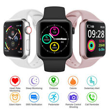 Touch Screen Bluetooth Bracelet Digital Smart Watch Heart Rate Sports Tracker