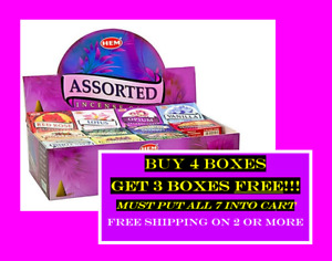 HEM Incense Cones >> You MUST buy 2 or more or order will be cancelled >>