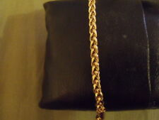 Bracelet CHAINE OR JAUNE Alliage 19 cm GOLD FILLED  IN YELLOW GF new