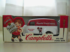 ERTL COLLECTIBLES - CAMPBELL'S SOUP COMPANY - 1951 GMC PANEL TRUCK DIECAST BANK