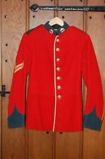 More details for duke of wellingtons west riding regt corporals full dress scarlet tunic