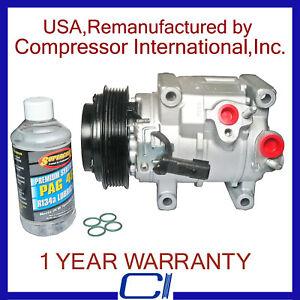 2011-2015 Town & Country 3.6L,2011-2016 Grand Caravan 3.6L Reman A/C Compressor