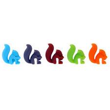 5X Glasmarker Set Glasmarkierer Glasmarkierung Silikon Glas-Marker f. Party #OS