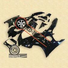 Gloss Black ABS Plastic Fairing BodyWork For Honda CBR600F3 CBR 600 F3 97-98 hh