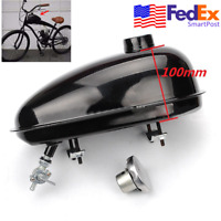 Black 3L Fuel Tank Petcock Cap Kit for 49cc-80cc Engine Motorized Bike Bicycle