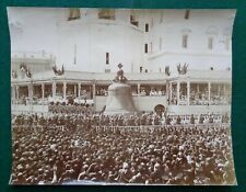 Antique Imperial Russian Photo Tsar Nicholas II Romanov Coronation Moscow 1896
