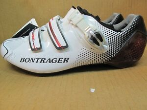 BONTRAGER RXXXL XXX Carbon Cycling Road Shoe Buckle Lightweight Time Trial White
