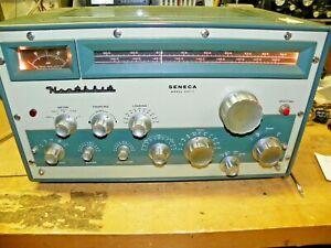 "Heathkit SENECA Amateur Transmitter Model VHF-1 w/Manual  ""Parts-Repair"""