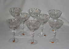 FOSTORIA MULLBERRY CHAMPAGNE/SHERBERT GLASSES ~ NEW WITH TAGS ~ SET OF 8