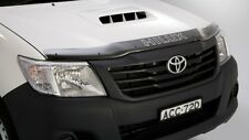 GENUINE TOYOTA HILUX 2011-2015 TINTED ACRYLIC BONNET PROTECTOR KIT STONE GUARD