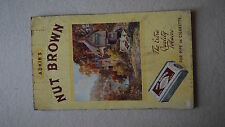 Large Vintage Adkin's Nut Brown The Extra Quality Tobacco Sign Cardboard