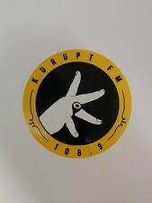 KURUPT FM 108.9 Sticker MC Grindah DJ Beats ToolBox Car Decal 200mm