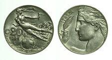 pci0411) Regno Vittorio Emanuele III 20 centesimi Libertà Librata 1921