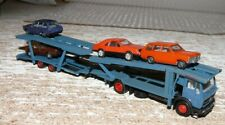 P11 Herpa mercedes auto Transporter cargado 4 automóviles