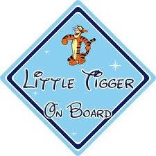 Petit tigrou à bord voiture signe-bébé à bord-disney winnie l'ourson tigrou