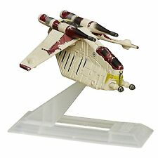 Star Wars: The Clone Wars Black Series Titanium Republic Gunship #23 NIB *RARE*