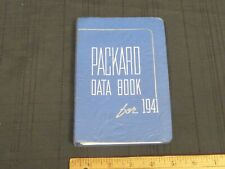1941 PACKARD Saleman's Data Book Dealer Car Information