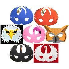 7 Foam Bird Masks - Animal Fancy Dress For Children & Grown Ups