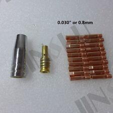 Short Gas Diffuser 0.8mm 030 Kit For Mig Gun Mig Welder