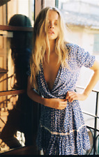 Faithfull The Brand Blue Dress Size 8 Great condition