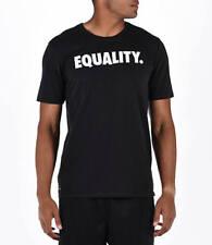 NEW Nike Mens Dri Fit Equality Black White T-Shirt LGBQT BHM LHM N7 $35 sz XL