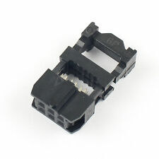 50pcs 254mm Pitch 2x3 Pin 6 Pin Idc Fc Female Header Socket Connector