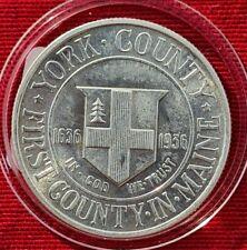 Half Dollar Coin USA York County First County in Maine 1636 - 1936 - 1/2 $ Münze