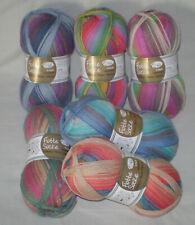 100 gr BAMBUS-MERINO EMOTION Sockenwolle RELLANA 4-fach / 4-fädig m Farbverlauf