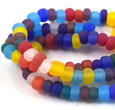 Czech Seed Beads 6 0 Mix Balloon Matte Strands