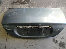 Genuine Jaguar S-Type Boot Lid In Blue With Plinth, Badges XR826933 AWJ (abrec)