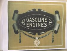 IHC Victor and Famous Gas and gasoline engines