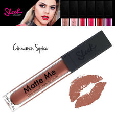 Sleek MakeUp Ultra Smooth Matte Me Lipstick Lip Gloss Cream Cinnamon Spice