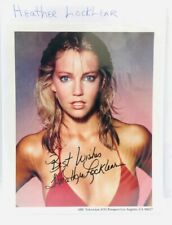 Heather Locklear Signed Autograph Picture Melrose Place Perfect Man Firestarter