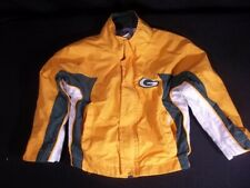 Green Bay Packers Toddler Jacket 2T Lined Zip Front