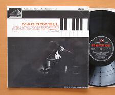 CSD 1530 Macdowell Two Piano Concertos Eugene List Chavez 1962 HMV Stereo EX/EX