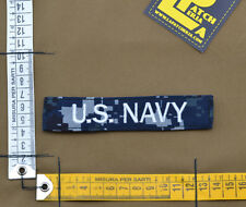 "Ricamata / Embroidered Patch ""U.S. NAVY"" NWU IIII with VELCRO® brand hook"