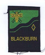 1960's Silk Wovens Blackburn BLK/GRN Traded For At World Jamboree 604241