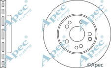 2 X REAR BRAKE DISCS FOR MERCEDES-BENZ SDK6158