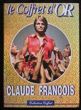 """CLAUDE FRANCOIS """" LE COFFRET D'OR """" 2K7 VHS / DISQUES FLECHE"""
