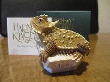 Harmony Kingdom Lone Star Horned Toad Lizard Uk Made Box Figurine Le 500 Rare