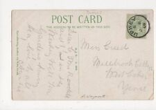 Miss Creed Millbrook Cottage West Coker Yeovil 1908 476a