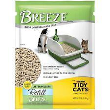 Purina Tidy Cats Breeze Cat Litter Pellets Refills net weight 7 lbs