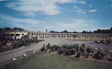 Long Beach Motor Court Highway 25 BROCKVILLE Ontario Canada Postcard