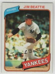 1980 Topps Baseball New York Yankees Team Set