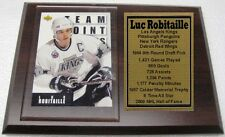 Los Angeles Kings Luc Robitaille Hockey Card Plaque