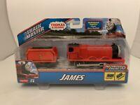 Thomas & Friends James Motorized Engine TrackMaster Train Toy Fisher-Price
