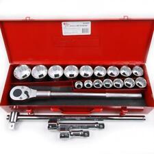 "T & E Tools 95321 3/4"" Drive 21 Piece Standard SAE Socket Set 12 Point"