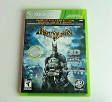 Batman Arkham Asylum Game Of The Year Edition Xbox 360 Good Condition Tested