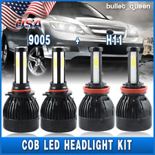 9005 H11 Combo LED Headlight Kit for Honda Accord Coupe 2008-2015 High Low Beam