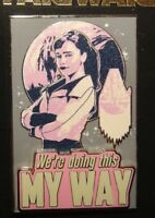 WE/'RE DOING THIS MY WAY New on Card LE Pin Qi/'Ra Disney Star Wars